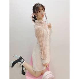PN romantic lace O/P (ピンク)
