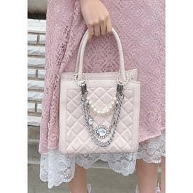 UT bijou chain BAG (ピンク)