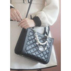 UT bijou chain BAG (ブラック)