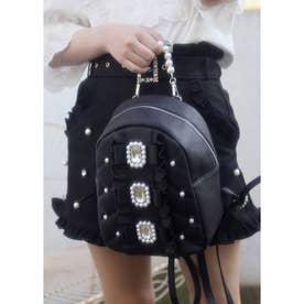 UT 3ribbon leather BAG (ブラック)