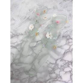 SX fleurs socks (ミント)