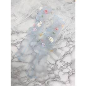 SX fleurs socks (サックス)