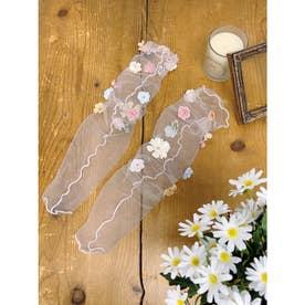 SX fleurs socks (ピンク)