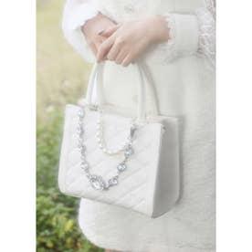 UT bijou chain BAG (ホワイト)