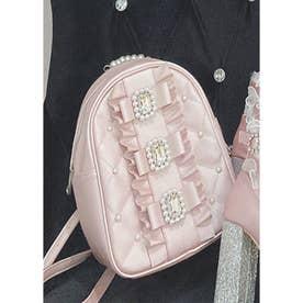 UT 3ribbon leather BAG (ピンク)