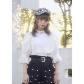 TS flower TOPS (ホワイト)