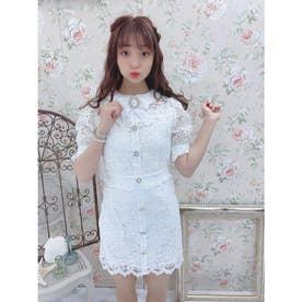 TS summer lace O/P (ホワイト)