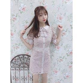 TS summer lace O/P (ピンク)