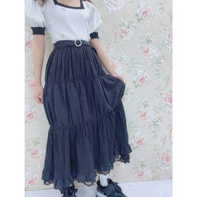 SX cotton lace LS/K (ブラック)
