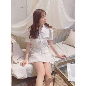 TS summer tweed SETUP (ホワイト)