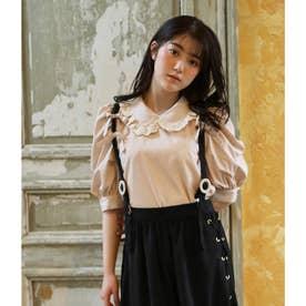 PN cotton ribbon B/L (ベージュ)