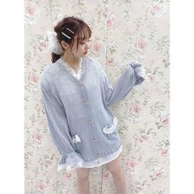 HB summer knit C/D (サックス)