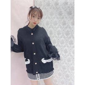 HB summer knit C/D (ブラック)