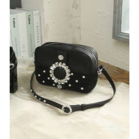 UT leather tweed BAG (ブラック)