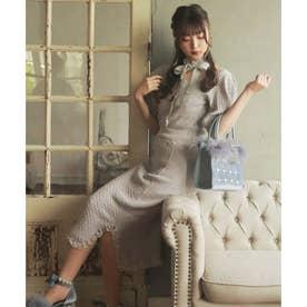 HB vintage tight knitO/P (グレー)