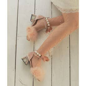 EV feather ballet mulle (ベージュ)