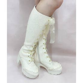 EV vintage lace boots (オフ)