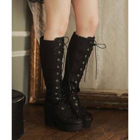 EV vintage lace boots (ブラック)
