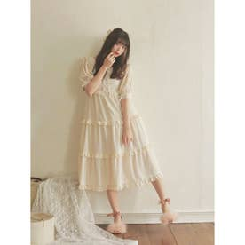 DC laceup tulle O/P (オフ)