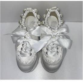 EV miss ballerina shoes (ホワイト)