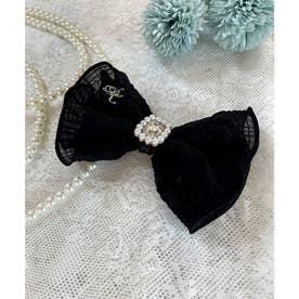 SX SK lace ribbon (ブラック)
