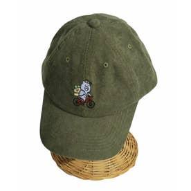 KUMAEATS CAP (カーキ)