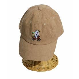 KUMAEATS CAP (ベージュ)