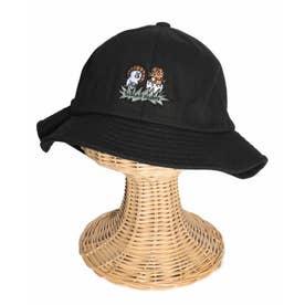 ダイナソー刺繍ハット (ブラック)