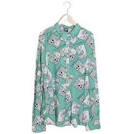 TOBIDASU××シャツ (グリーン)