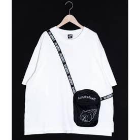 クマパンパッカブルTシャツ (オフホワイト)