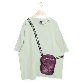 クマパンパッカブルTシャツ (グリーン)