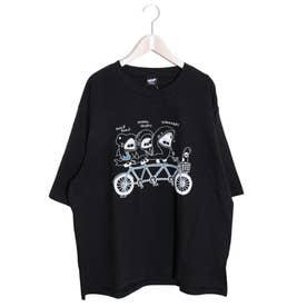 SAMEKURING Tシャツ (ブラック)