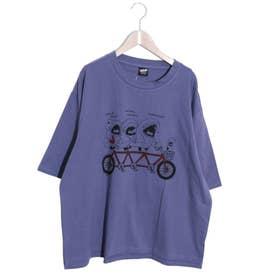 SAMEKURING Tシャツ (パープル)