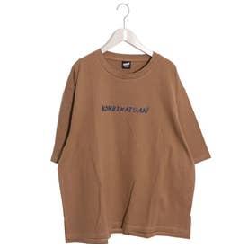 KONBIKAISAN Tシャツ (ブラウン)