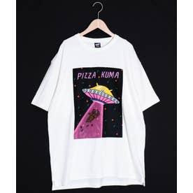キャトルミーティングBIG Tシャツ (オフホワイト)