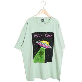 キャトルミーティングBIG Tシャツ (グリーン)
