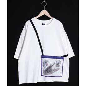虫かごアップリケTシャツ (オフホワイト)