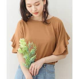 フリルTシャツ (puモカ)