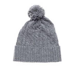 ネップヤーン ニット帽 (グレー)