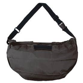 マーナ ショルダーバッグ ハンドバッグ 2Way お手軽 エコバッグ 内ポケット お買い物 バッグ S435 (ブラック(435BK))