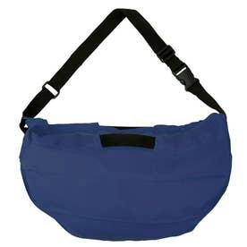 マーナ ショルダーバッグ ハンドバッグ 2Way お手軽 エコバッグ 内ポケット お買い物 バッグ S435 (ネイビー(435NV))