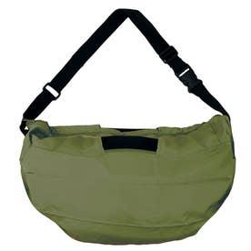 マーナ ショルダーバッグ ハンドバッグ 2Way お手軽 エコバッグ 内ポケット お買い物 バッグ S435 (オリーブ(435OL))
