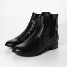 サイドゴアショートブーツ (black)