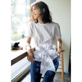 リボンTシャツ (ホワイト)