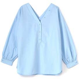 優待価格2WAYプルオーバーシャツ (ブルー)