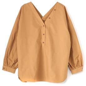 優待価格2WAYプルオーバーシャツ (ベージュ)