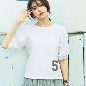 ナンバーロゴTシャツ (ホワイト)