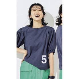 ナンバーロゴTシャツ (インディゴ)