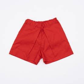 センタープリーツショートパンツ (Red)