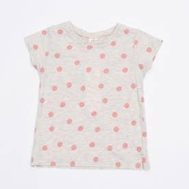 [抗菌防臭]ランダムドットTシャツ (Ivory)